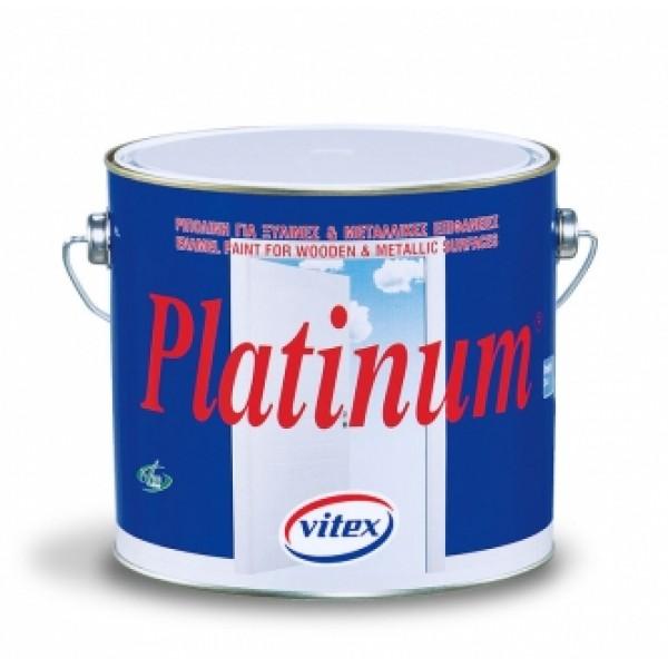 VITEX PLATINUM ΓΥΑΛΙΣΤΕΡΟ-ΣΑΤΙΝΕ-ΜΑΤ ΛΕΥΚΟ 0,75L
