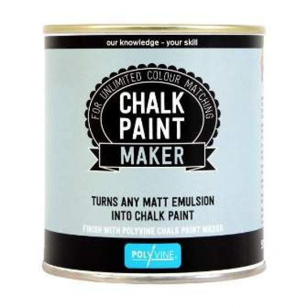 CHALK PAINT MAKER POLYVANE 500ml