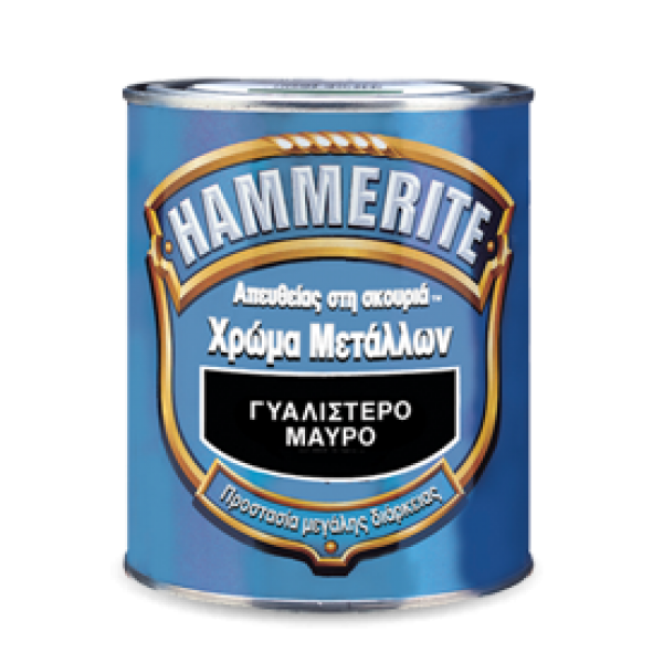 hammerite γυαλιστερο λευκο 0,75l