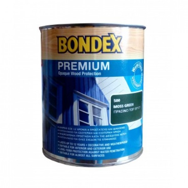 BONDEX PREMIUM 0.75L SATINE (ΚΑΤΑΛΛΗΛΟ ΓΙΑ ΜΕΛΙΣΣΙΑ)