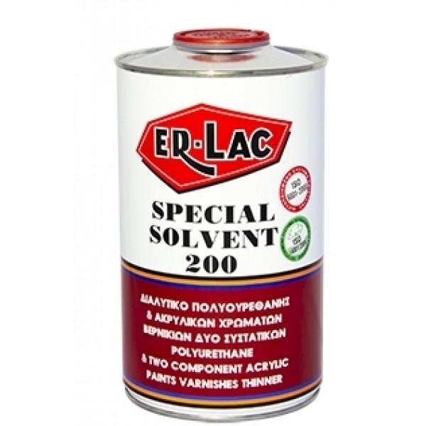 ER-LAC SOLVENT No 200 0,75L  ΔΙΑΛΥΤΙΚΟ ΠΟΛΥΟΥΡΕΘΑΝΗΣ